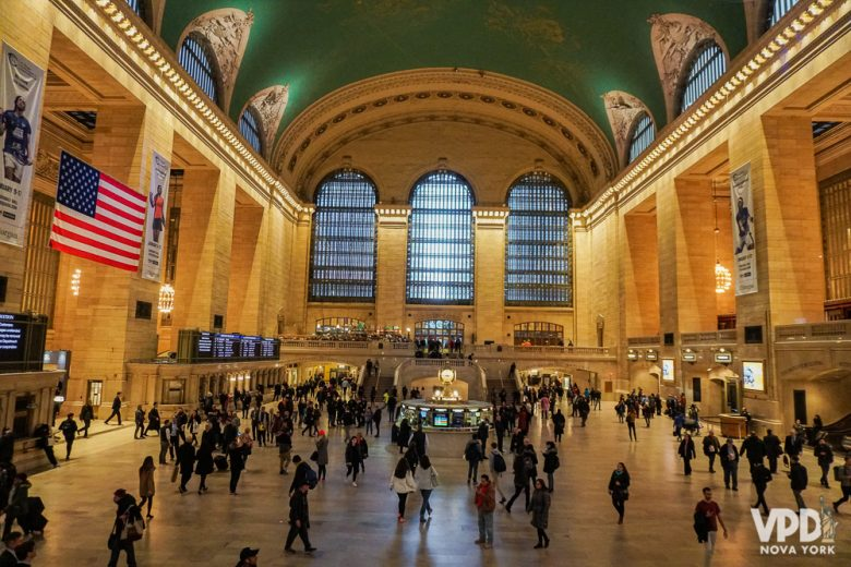 Grand Central Station, em Nova York