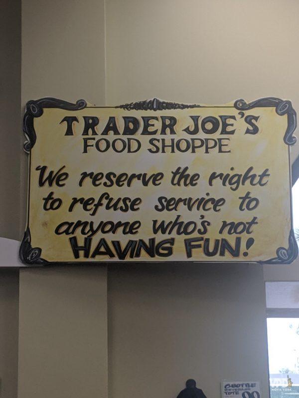 placa trader joe's