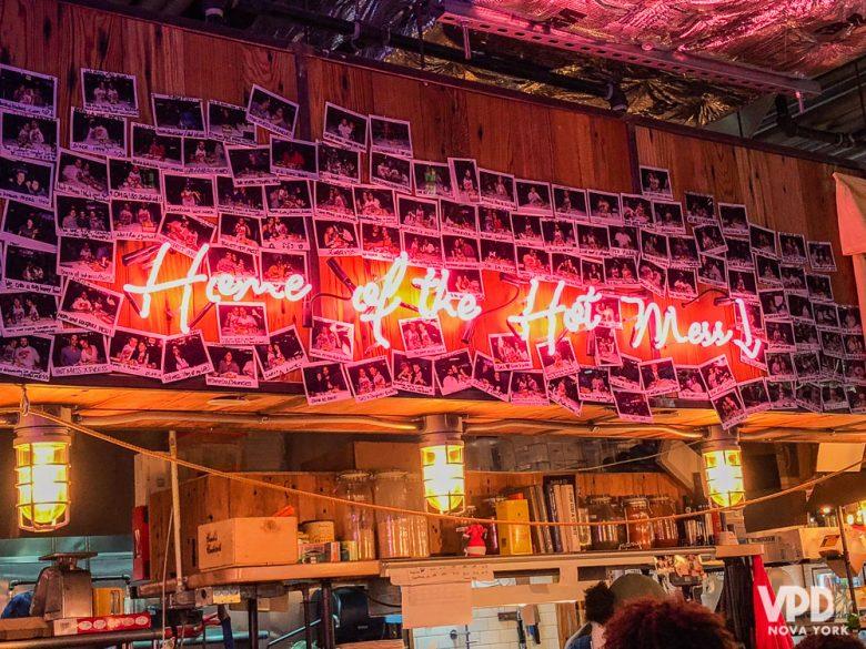 Além de tudo o DeKalb Food Hall é o espaço mais estiloso do tipo!