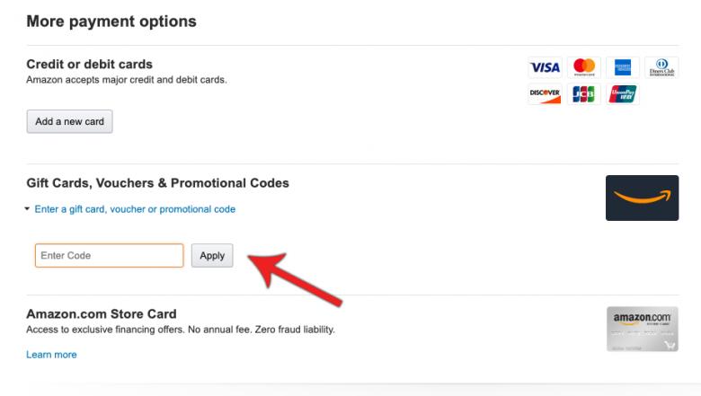 Foto da tela do site na página de pagamento