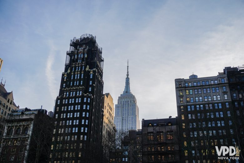 O Empire State é uma das várias atrações na região da quinta avenida