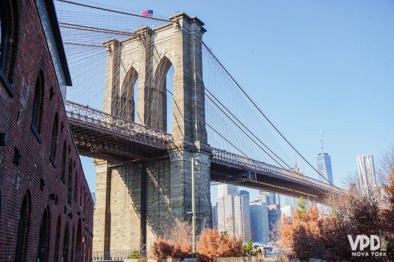 A Brooklyn Bridge é uma das atrações mais fotografadas da cidade!