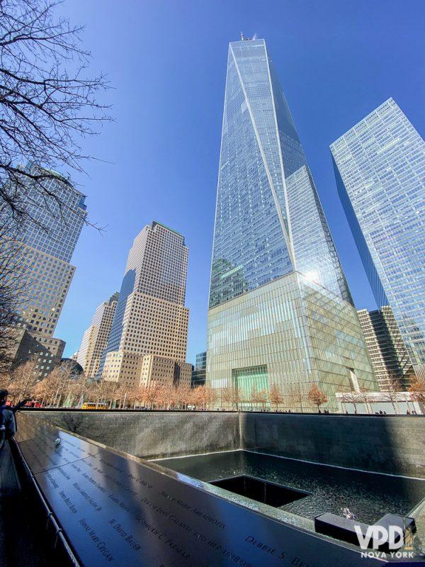 O Memorial do 11 de setembro é uma das atrações abertas e gratuitas