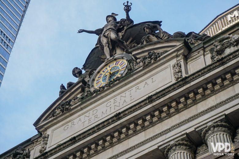 A Grand Central é uma das atrações e cenários super clássico sde Nova York