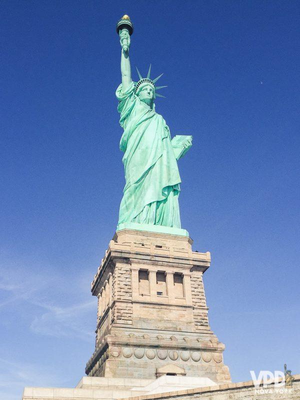 Há varios jeitos de ver a Estátua da Liberdade
