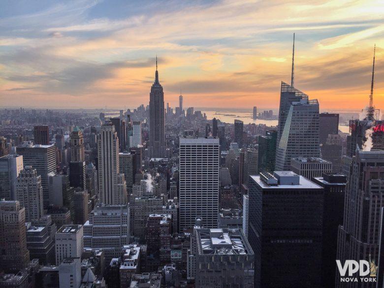 Dá pra ficar perdido com todas as opções de atrações em Nova York!